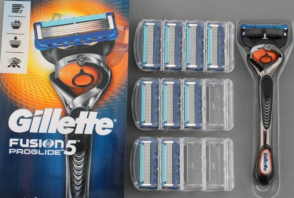 gillette fusion proglide manual blades 8 pack