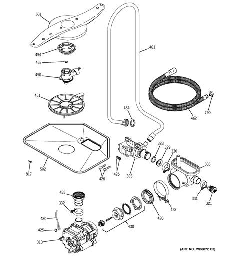 kenmore 630 dishwasher installation manual