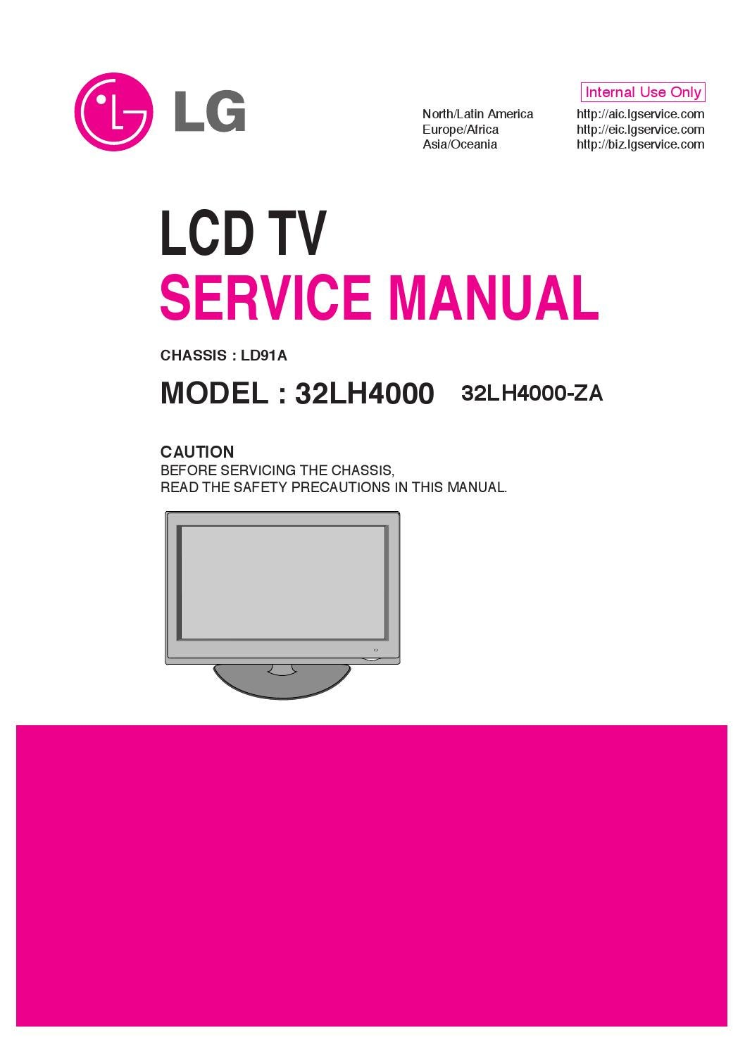 lg 42ln5700-uh tv manual