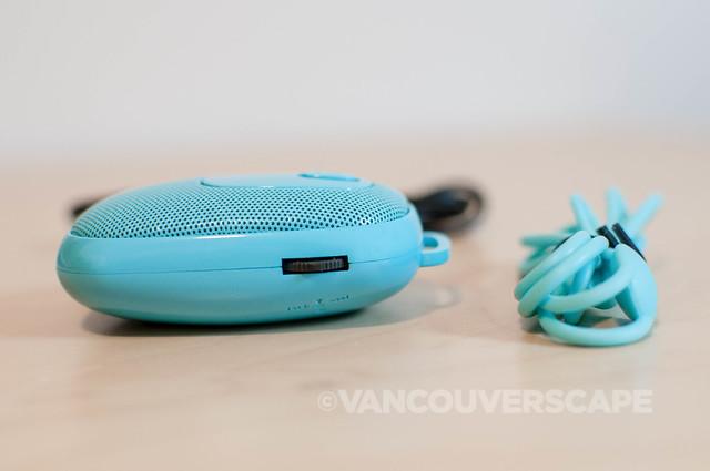 manual logiix blue piston rechargeable bluetooth speaker