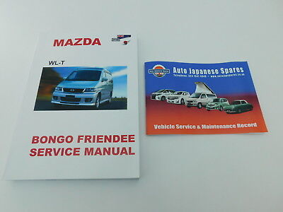 mazda bongo workshop manual english