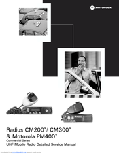 motorola radius model d33lra77a5ck user manual