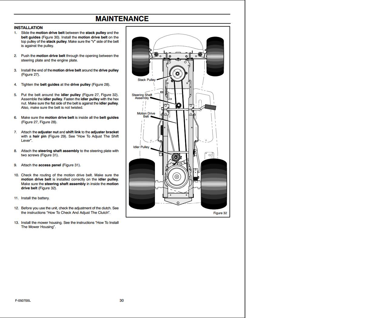 murray lawn tractor 405016x31a repair manual