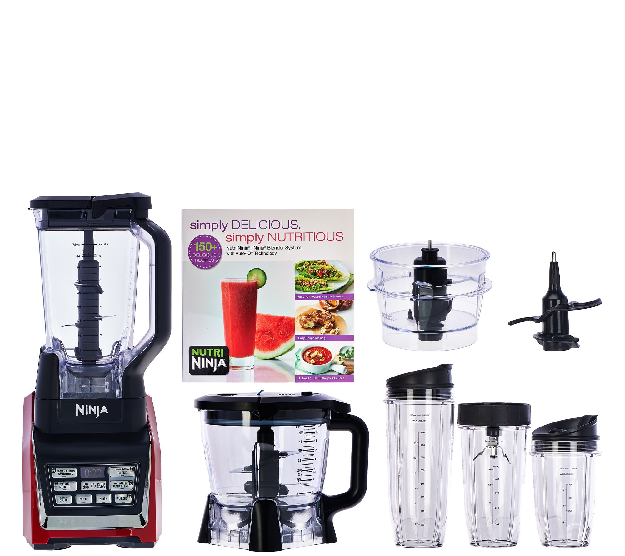 ninja mega kitchen system 1500 food processor blender bl773co manual
