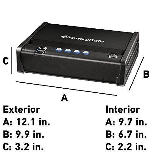 sentry safe biometric pistol safe manual