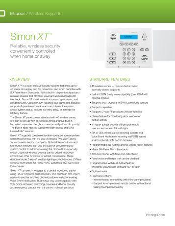 simon xt user manual interlogix