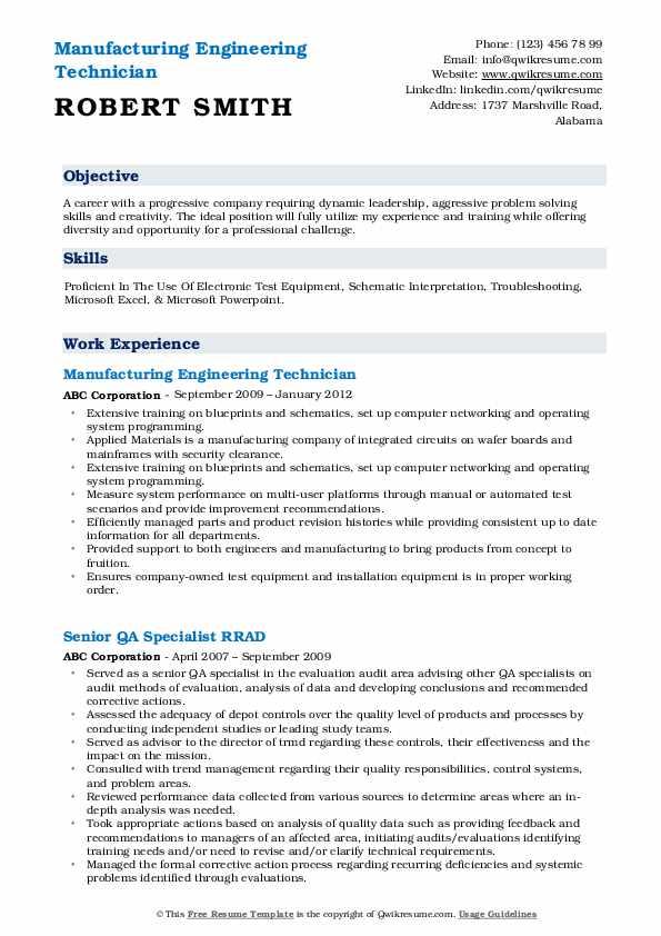 skill set for manual tester resume
